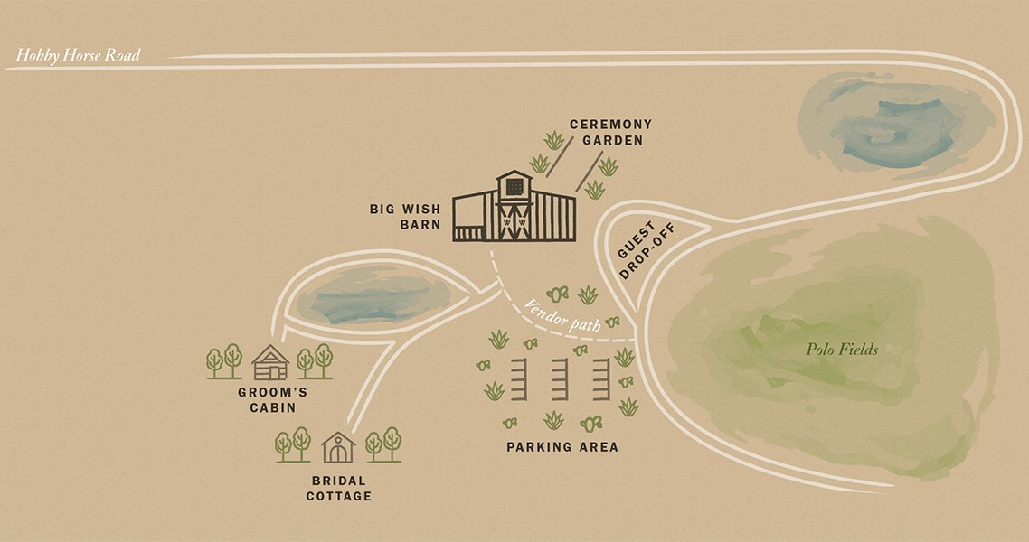 Two Wishes Ranch Property Map